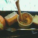 4780334 - モーニング(左から、卵サンド、生クリームサンド、カレーポテトのマヨ焼、シフォンケーキ)