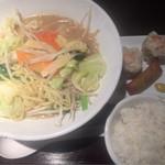 ebisugyouzataihouki - 濃厚野菜タンメン+点心セット