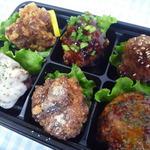 ぞうさん弁当 - 料理写真:唐揚6種盛り。ご飯セットもあります!