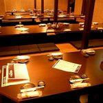 全席個室居酒屋 桜坂 - 掘りごたつ個室20名様×4