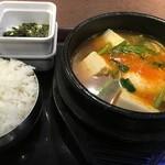 ポジャギ - 純豆腐チゲ