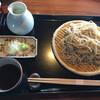 杜氏賛歌 - 料理写真:せいろ蕎麦1200円税サ別