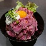 レッドロック - ローストビーフ丼(大)1150円