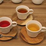 カフェ&ダイニング ハレルアナ - ハーブティー3種