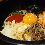 牛味 - 石焼ビビンバ定食