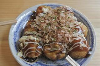 角だこ 桂 - マヨソース味たこ焼き