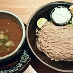 麺匠 たか松 - 【つけ麺 + 味付玉子】¥850 + ¥100