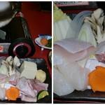 活 紀州本クエ料理 九絵亭 - 天然のクエ鍋です♪