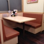 Santen - (内観)テーブル席