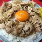 名物 スタ丼 サッポロラーメン - スタ丼サッポロラーメン国立本店(スタミナ丼)