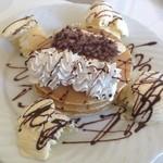 カフェ・マレット - チョコバナナパンケーキ