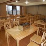 浜焼きマーケット - 最大200名テーブル席