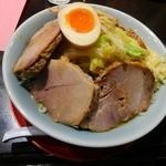 小十郎 - 味噌らーめん(胡麻風味)豚増し