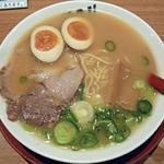 ラーメン横綱 - 【ラーメン 小 + 煮玉子】¥600 + ¥100