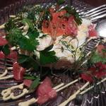 ル・フークレール - ズワイガニと白身魚の三層テリーヌ