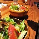 キッチン ククゥ - くくうランチとシチューランチに付いてきたサラダ