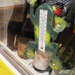 キッチン ククゥ - カエル型温度計