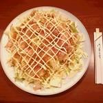 肉料理と酒の肴とおかず 焼肉亭 ポパイ - 料理写真:大皿に乗った人気メニュービックリキャベツ450円!