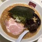 麺屋のすけ - 醤油とんこつらーめん(650円→700円)