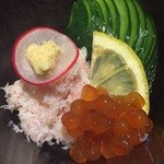 47824456 - 茹で蟹の酢和え☆