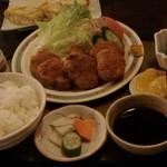 食事処 八石 - 料理写真:味噌ひれカツ定食1,050円
