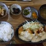 稲の花 - 鳥南蛮定食