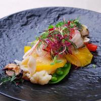 リストランテ・マリオ - 魚介のマリネサラダ仕立て シチリア風 1300円