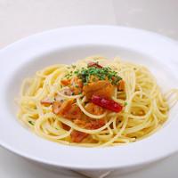 リストランテ・マリオ - 売切れ御免 生ウニのペペロンチーノスパゲティ 1300円