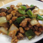 香港酒家 - 鶏肉と中華みそ炒め