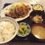 あおい食堂 - 生姜定食❣️