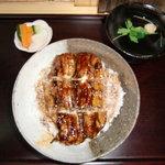 中村屋 - うな丼1,150円