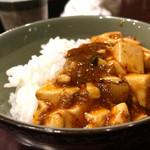 47830586 - 2016/2_麻婆豆腐をオンザライスで