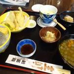 新富鮨 - 日立の地魚御膳1080円