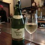 1029 - <2016年2月・再訪>トーレス サングレテ トロ3,000円、スペインの白ワイン。