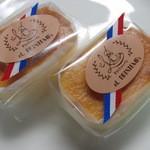 47834386 - 半熟チーズ(140円)しっとり系