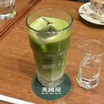 カフェ 英國屋 - 抹茶オーレ(700円)