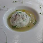 トラットリア・ラッキオ - 温前菜 鱈と蕪のヴァポーレ