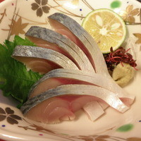 季節料理 中西 - 鯖キズシ