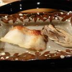 47837393 - 焼き物(まながつお、牡蠣)