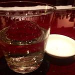 Bar Usquebaugh - 『アードベック10年』様。いつものように塩も頼むと雪塩出てきました!