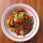 源丸 - 料理写真:一度食べたら忘れられない・・・源丸冷し!