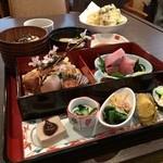 芦屋 花ゆうぜん - 花ご膳¥1500(税込み¥1620)…料亭出身料理人オーナーが作る本格的和食♪が芦屋から移転♪ めっちゃ美味しかったー✨