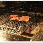 牛たん焼き 仙台 辺見 - 炭火焼き~