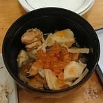 嘉祥 - ホタテの干し貝柱の戻し汁のうまみが感じらない、ダメダメのっぺ汁