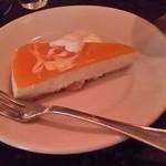 カフェ アンジェリーナ - マンゴーレアチーズケーキ