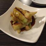 まつもと - 揚げ茄子の台湾たまり香味ソース