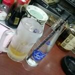 大阪城 - ハイボールは、ブラックニッカと瓶の炭酸がいいね!