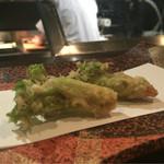 天ぷら 酒菜 醍醐 - たらの芽