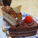 47848334 - シンプルな生チョコケーキが美味しい♪