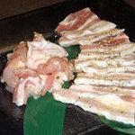4785074 - 豚&鶏肉の盛り合わせ(塩)